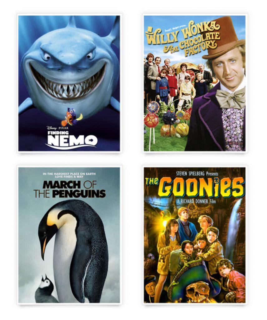 ภาพยนตร์สำหรับเด็กที่ดีเปิดในวันหยุดเพื่อสร้างความเพลิดเพลิน